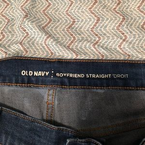 Old Navy Jeans - Old Navy Straight Leg Boyfriend Jeans